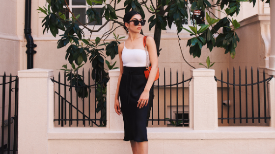 Young woman - fashion blogger - micro influencers - South Coast Social