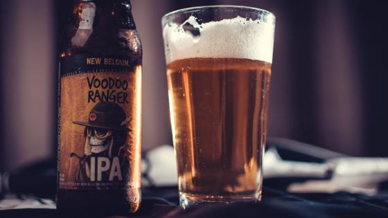 IPA beer - bar or pub