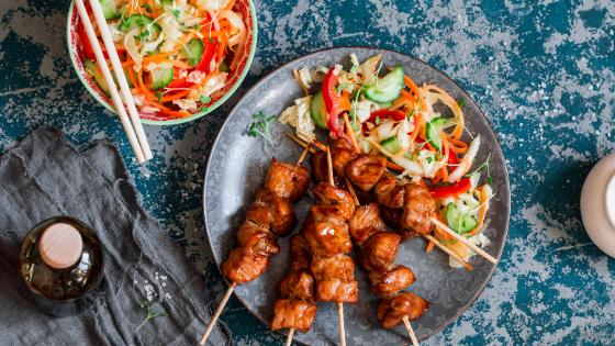Asian restaurant - skewers