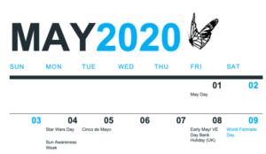 May Social Media Holiday Calendar 2020 - South Coast Social