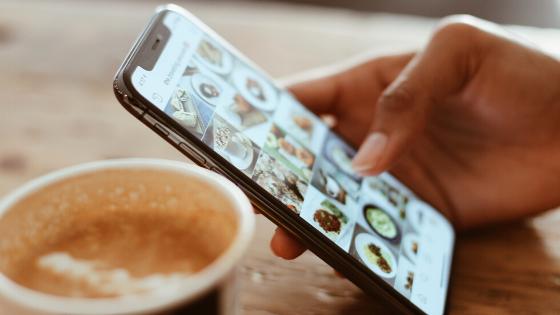 Instagram feed - social media engagement