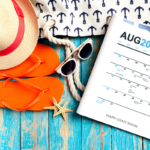 August Social Media Calendar - free download - South Coast Social