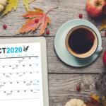 Free Social Media Holiday Calendar - October 2020 - South Coast Social